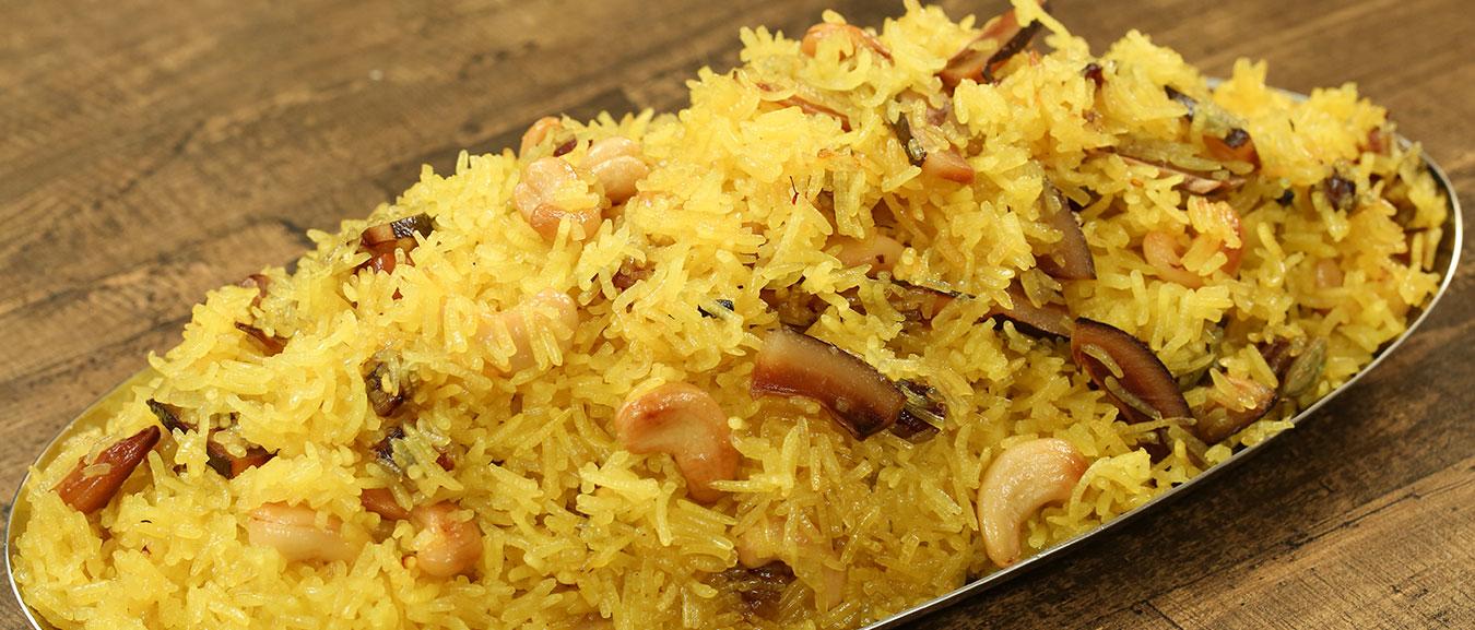Zarda Pulao – Eid Special Recipe – Sweet Rice – Meethe Chawal Recipe – Homemade Zarda – Varun