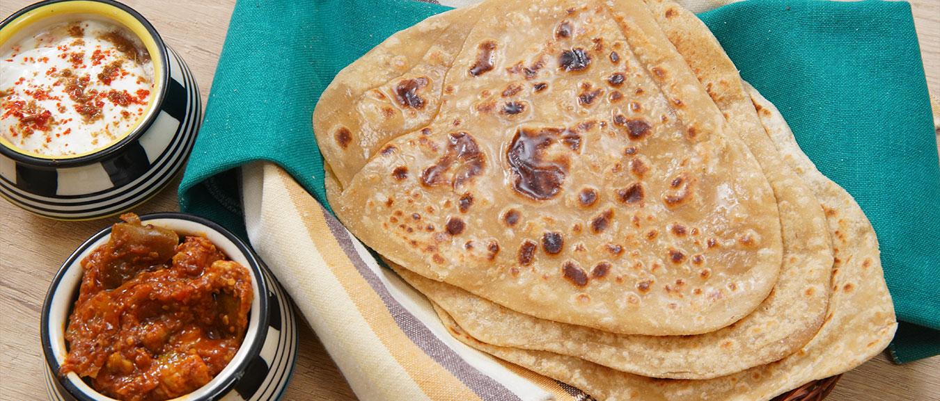 Plain Paratha Recipe – Homemade Paratha Recipe – Paratha Recipe Indian – How To Make Paratha – Ruchi