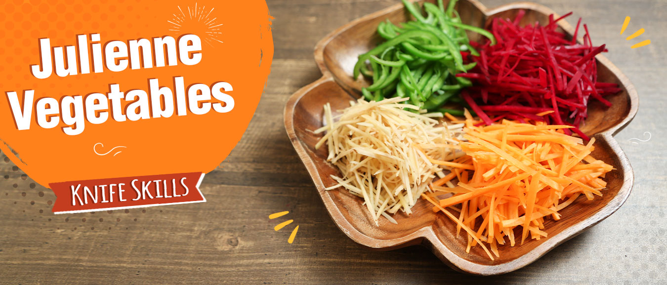 How To Julienne Vegetables | Knife Skills | The Bombay Chef – Varun Inamdar | Basic Cooking