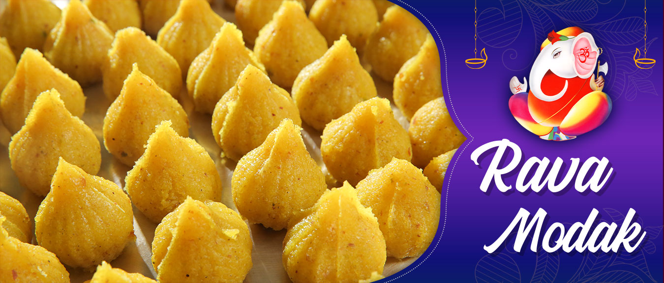 How To Make Rava Modak   Ganesh Chaturthi Special   Semolina Modak   Recipe by Ruchi Bharani