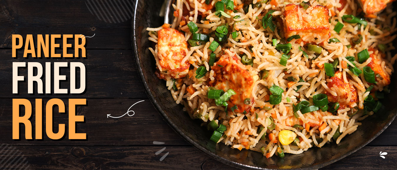 Paneer Fried Rice   Simple & Easy To Make Rice Recipe At Home   Ruchi's Kitchen