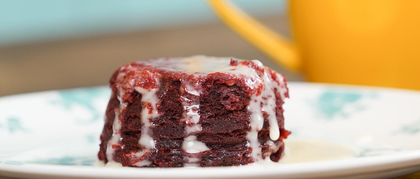 Red Velvet Mug Cake Recipe – How to Make Egg-less Mug Cake – 2 Mins Mug Cake Recipe – Bhumika