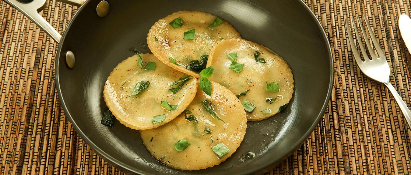 Homemade Ravioli – Ravioli Recipe Indian Style – Mushroom Ravioli – Easy Ravioli Recipe – Bhumika