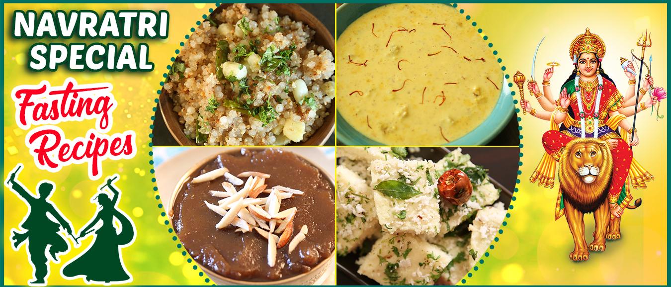 Navratri Special Upas Recipes – Vrat Ka Khana – BEST Fasting Recipes For Navratri