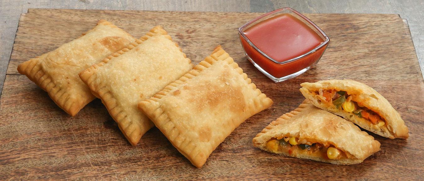 McDonald's Pizza McPuff Recipe | Best Veg Pizza Pocket Recipe | Pizza McPuff By Bhumika