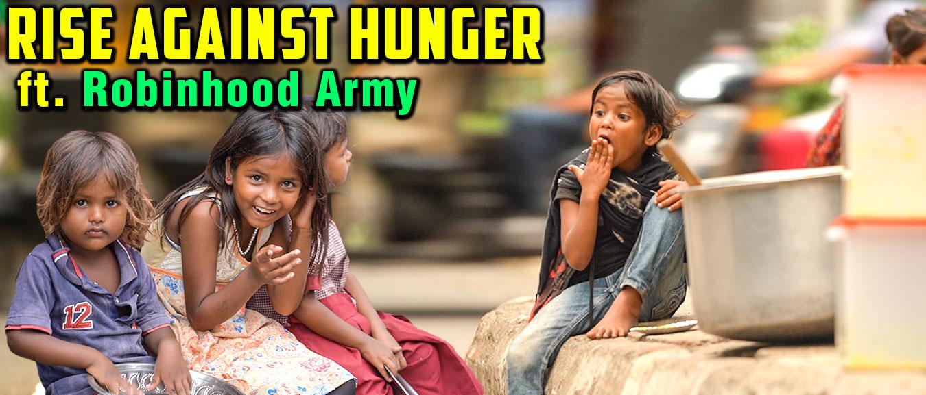 Serving Food To 3000 Underprivileged Kids ft. Robinhood Army(Mumbai) | World Food Day | Rajshri Food
