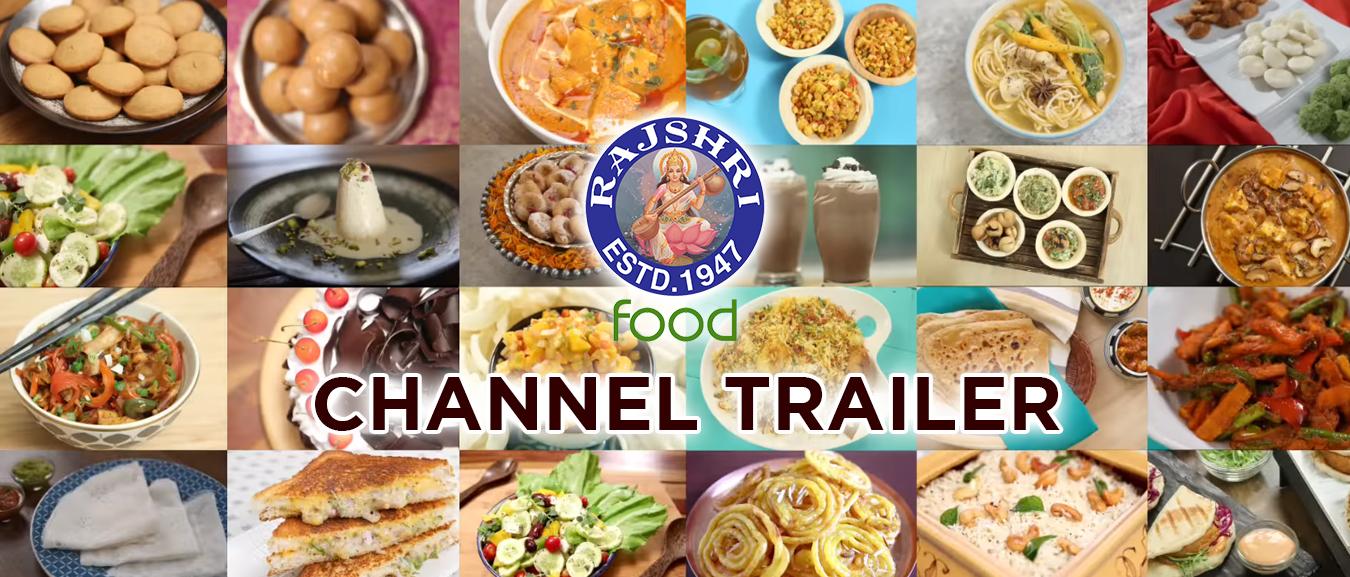 Rajshri Food – Channel Trailer