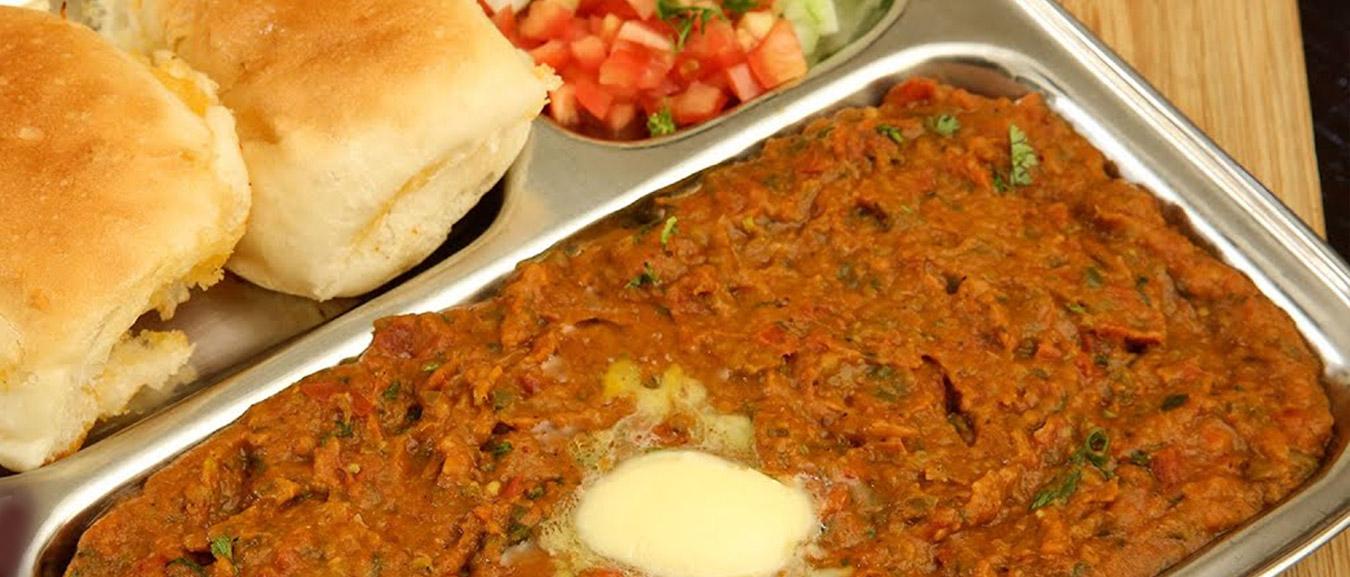 Pav Bhaji | No Onion No Garlic Pav Bhaji | How To Make Jain Pav Bhaji | Street Food | Ruchi