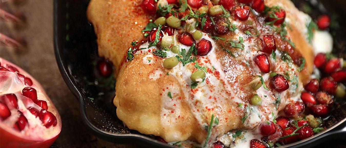 Raj Kachori | India's BIGGEST Kachori Chaat | Royal Kachori Recipe | Best Street Food | Varun