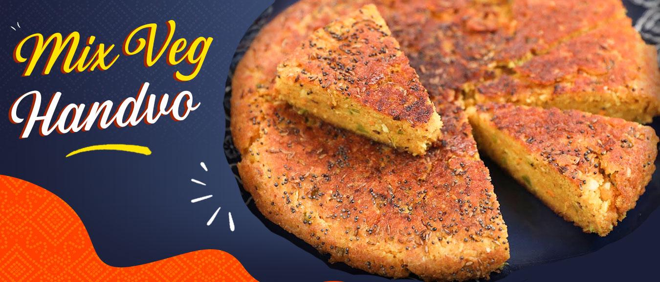 How To Make Mix Veg Handvo | Winter Is Coming | Handva | Gujarati Recipe | Savoury Cake | Varun