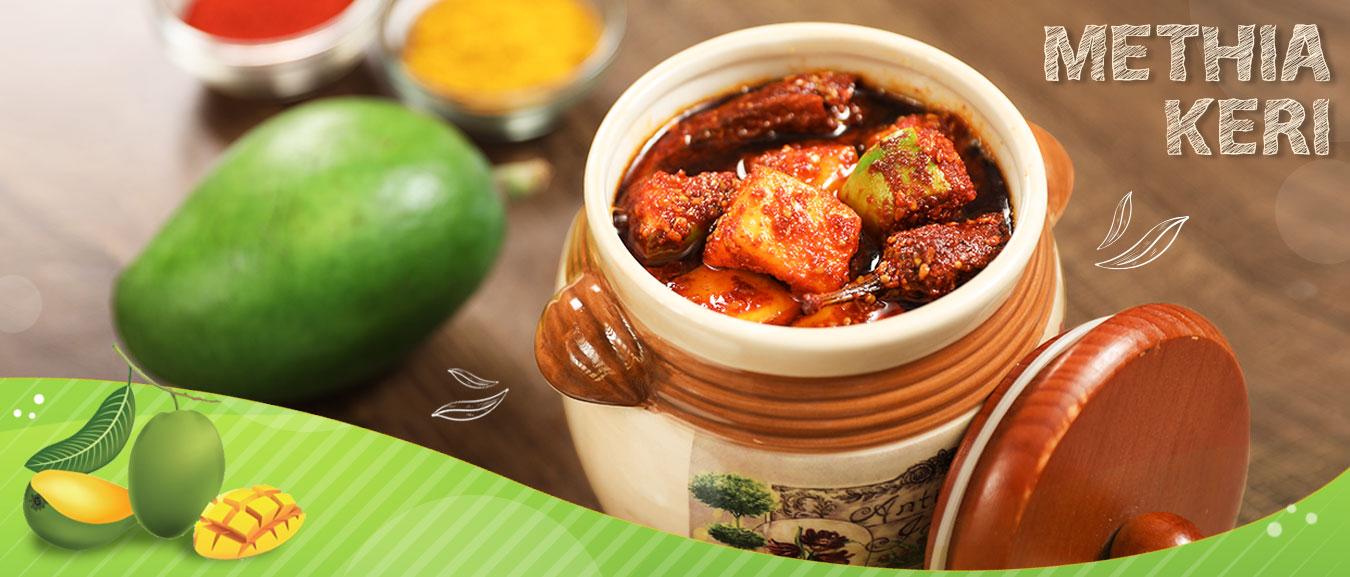 Methia Keri Recipe | How To Make Methia Keri Pickle | Raw Mango Pickle Recipe By Varun Inamdar